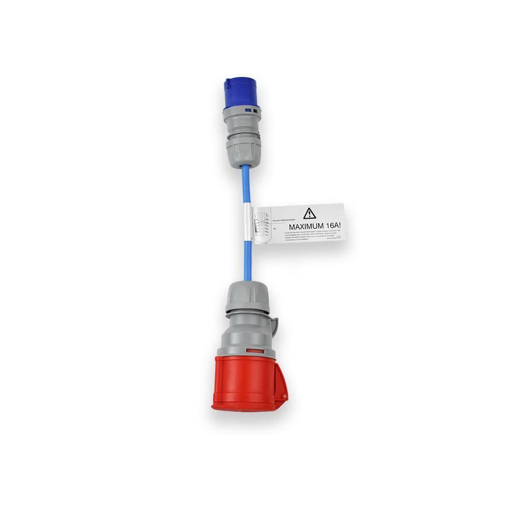 адаптер за индустриален контакт 16 ампера