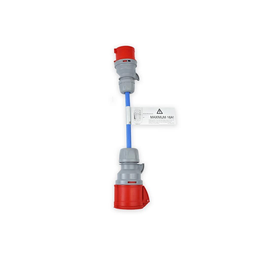 преходник за зареждане от промишлен контакт 11 kW