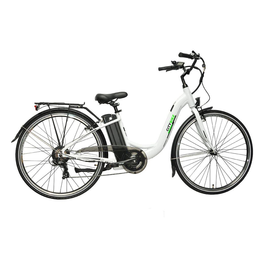 електрическо колело с 28 инчови гуми citybike