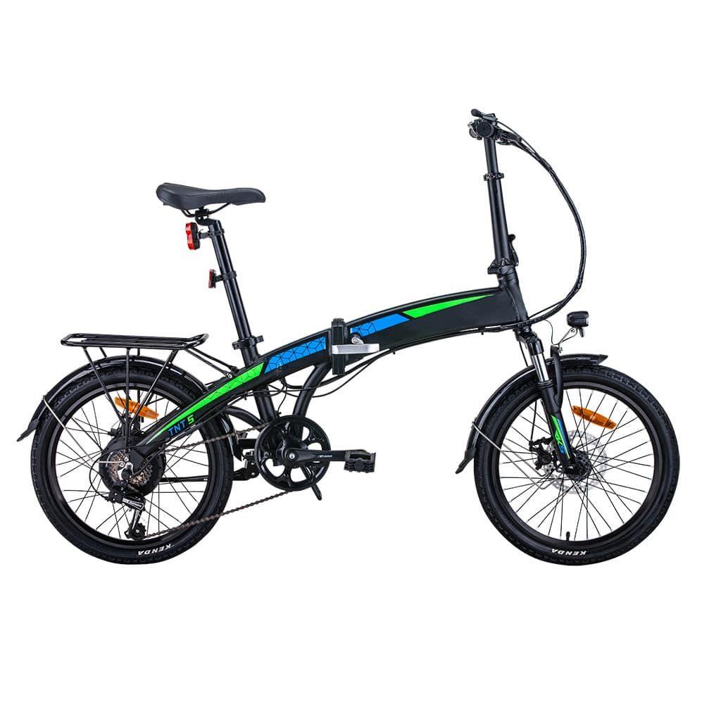 компактен велосипед с 20 инча гуми
