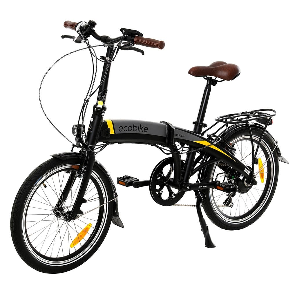 сгъваем електрически велосипед екобайк
