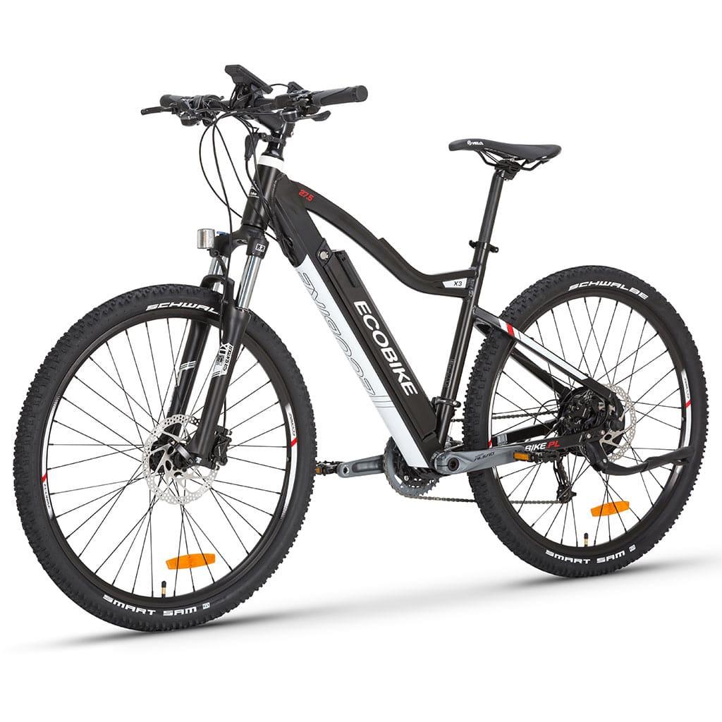 мощен електрически велосипед за планинско каране