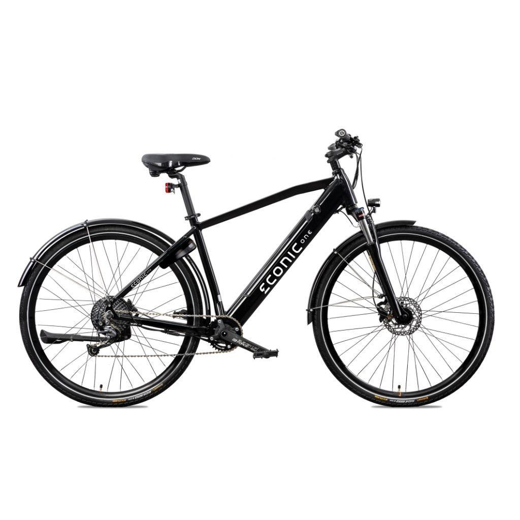 градски електрически велосипед econic one с 250w мотор и 13.8 ah батерия