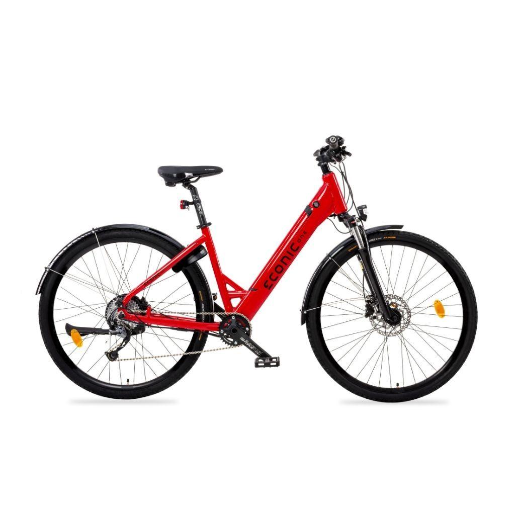 градски електрически велосипед econic one urban lite с мощен мотор и голям пробег