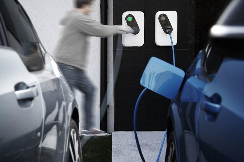 интерактивна станция за зареждане на ел коли