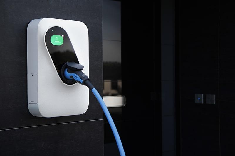 зарядна станция за електрически коли с контакт тип 2