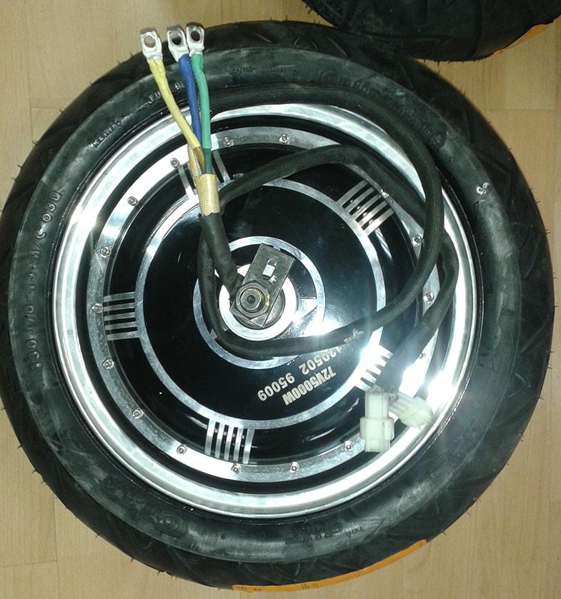 електродвигател 5000 w за мотопед