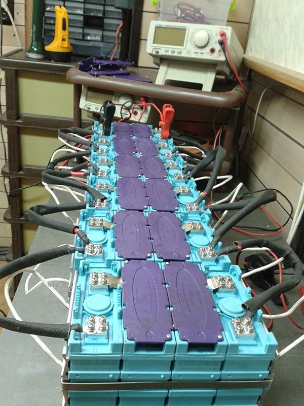 литиво-желязо-фосфатни батерии за скутер
