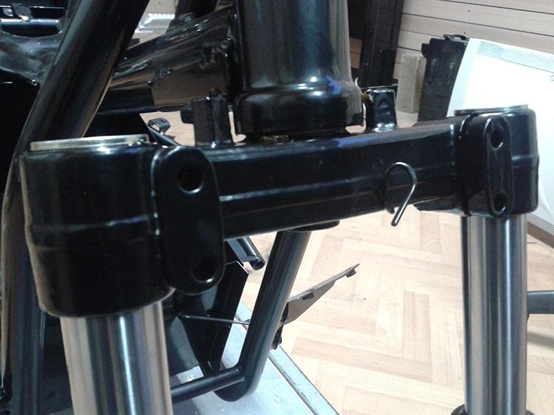 предни амортисьори на скутер