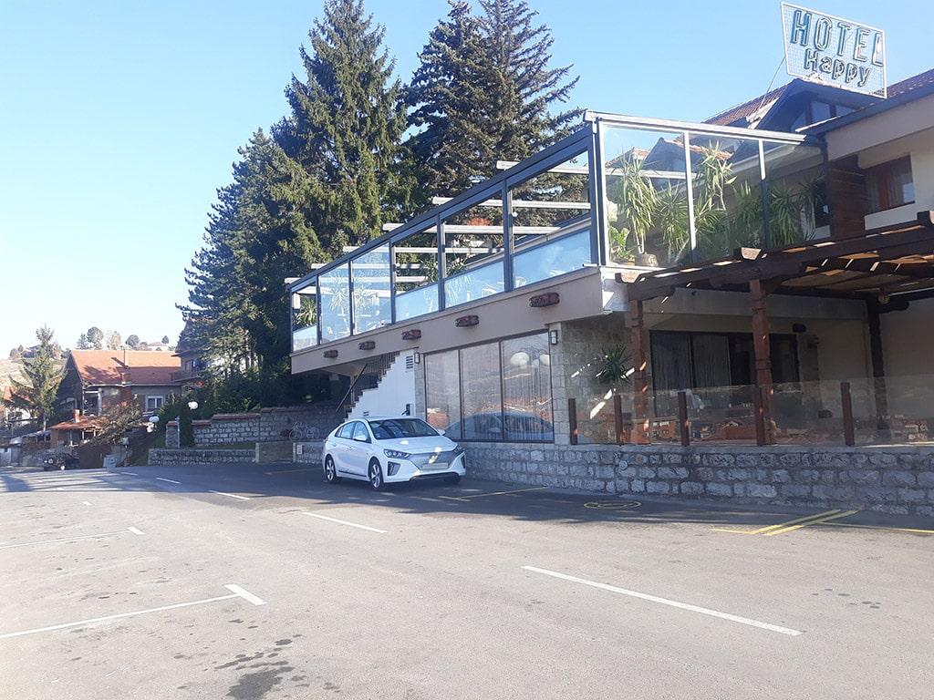 зарядна станция хотел Хепи Димитровград