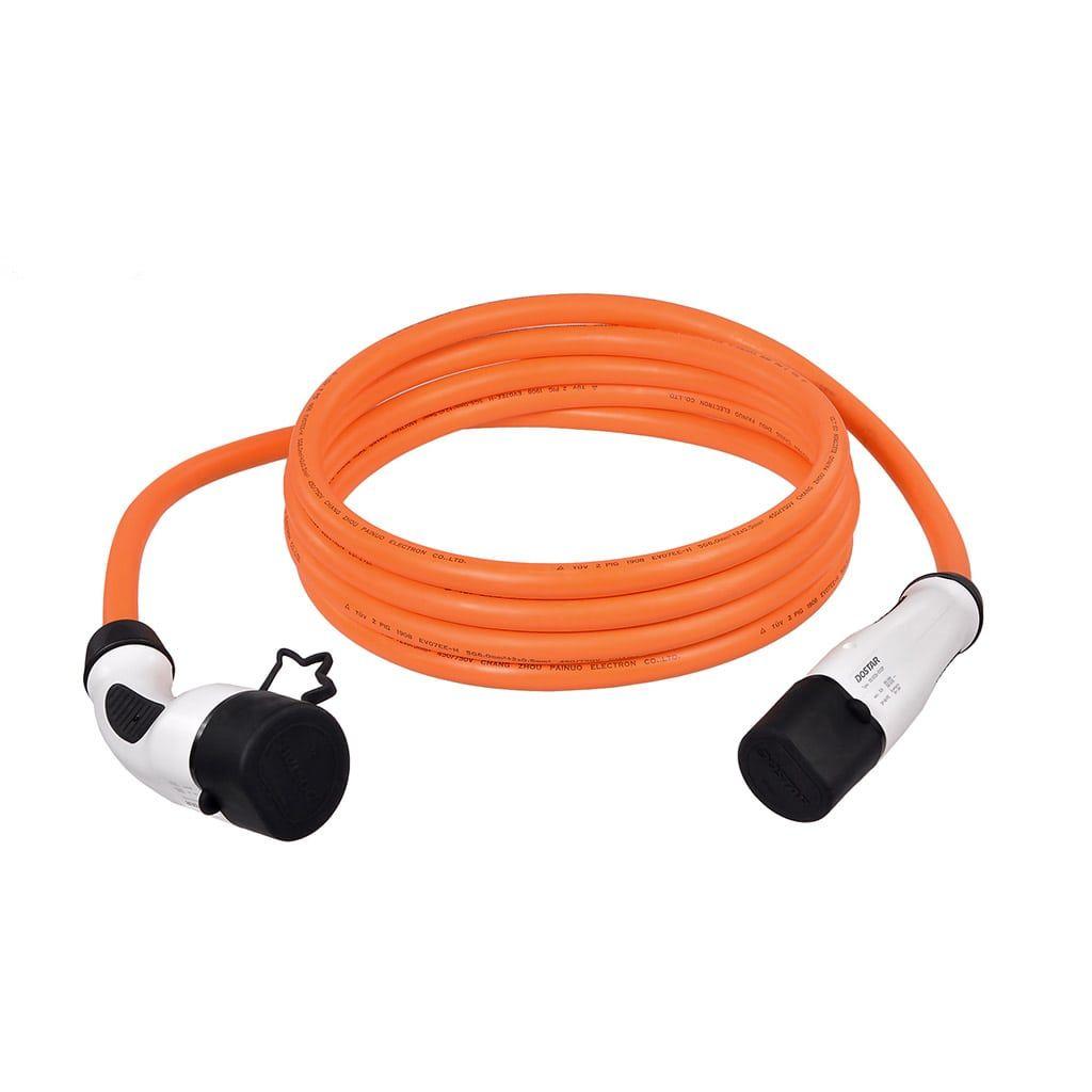 кабел за зареждане на зарядна станция до 22 kW мощност