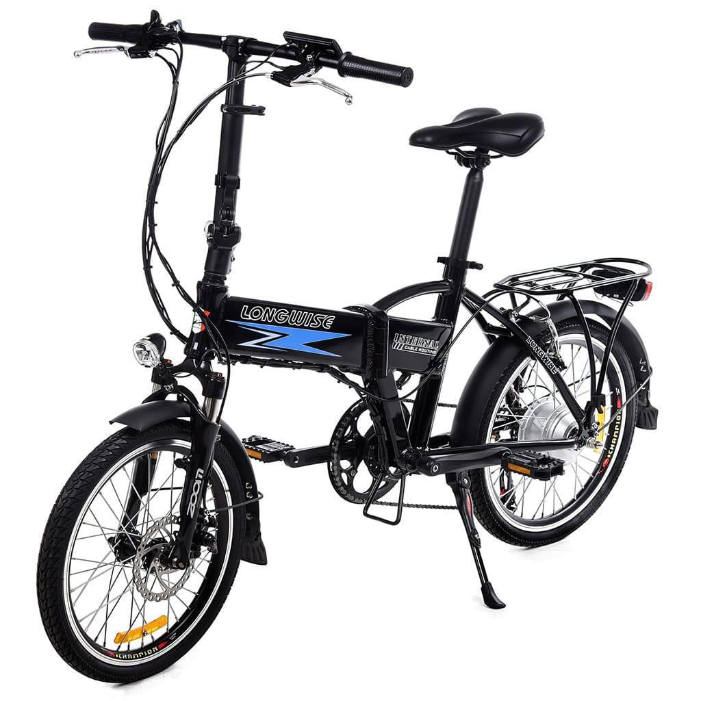 сгъваемо колело с вградена батерия