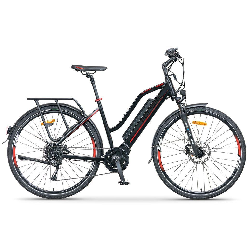 дамски електрически велосипед за трекинг