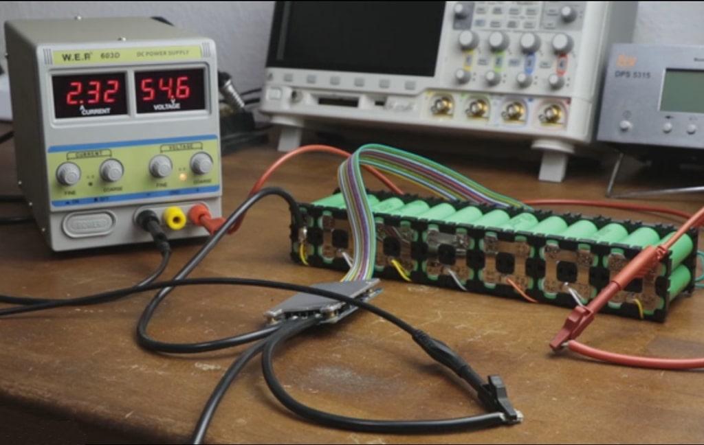 проверка на литиево-йонна батерия за електрическо колело