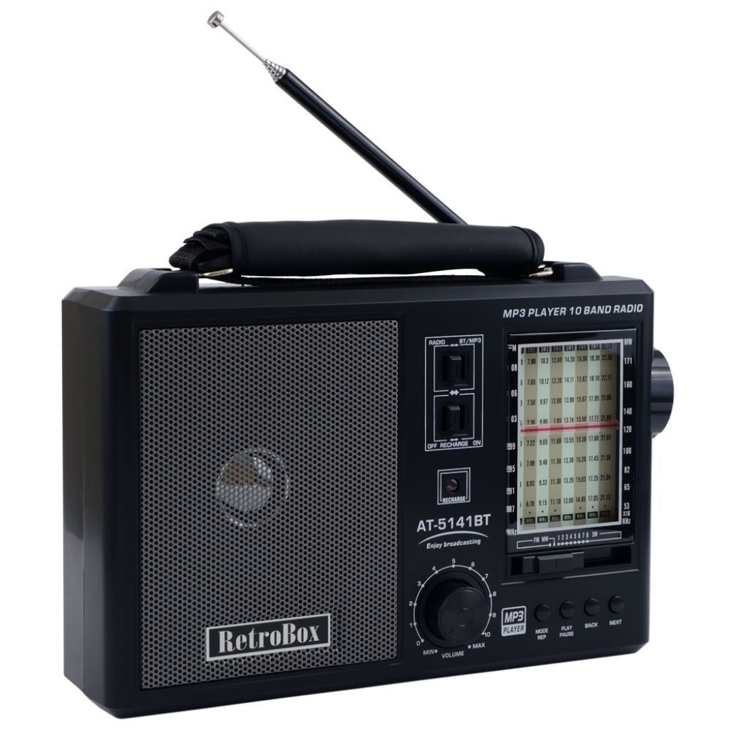 радио с ретро дизайн
