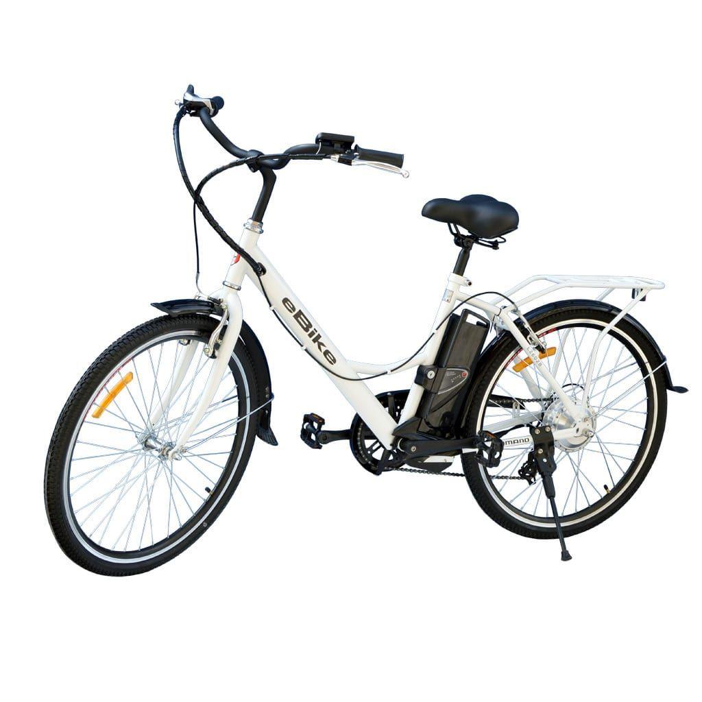 електрическо колело със стоманена рамка