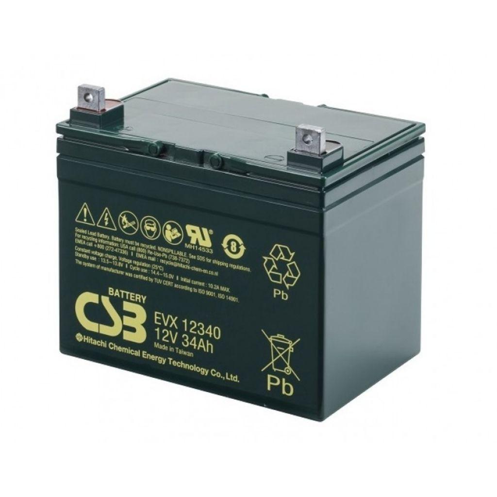 тягов цикличен agm акумулатор csb evx 34 ah