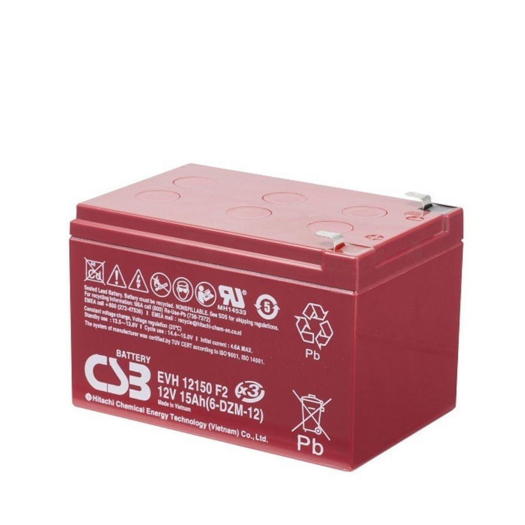 тягов цикличен agm акумулатор csb evh 15 ah