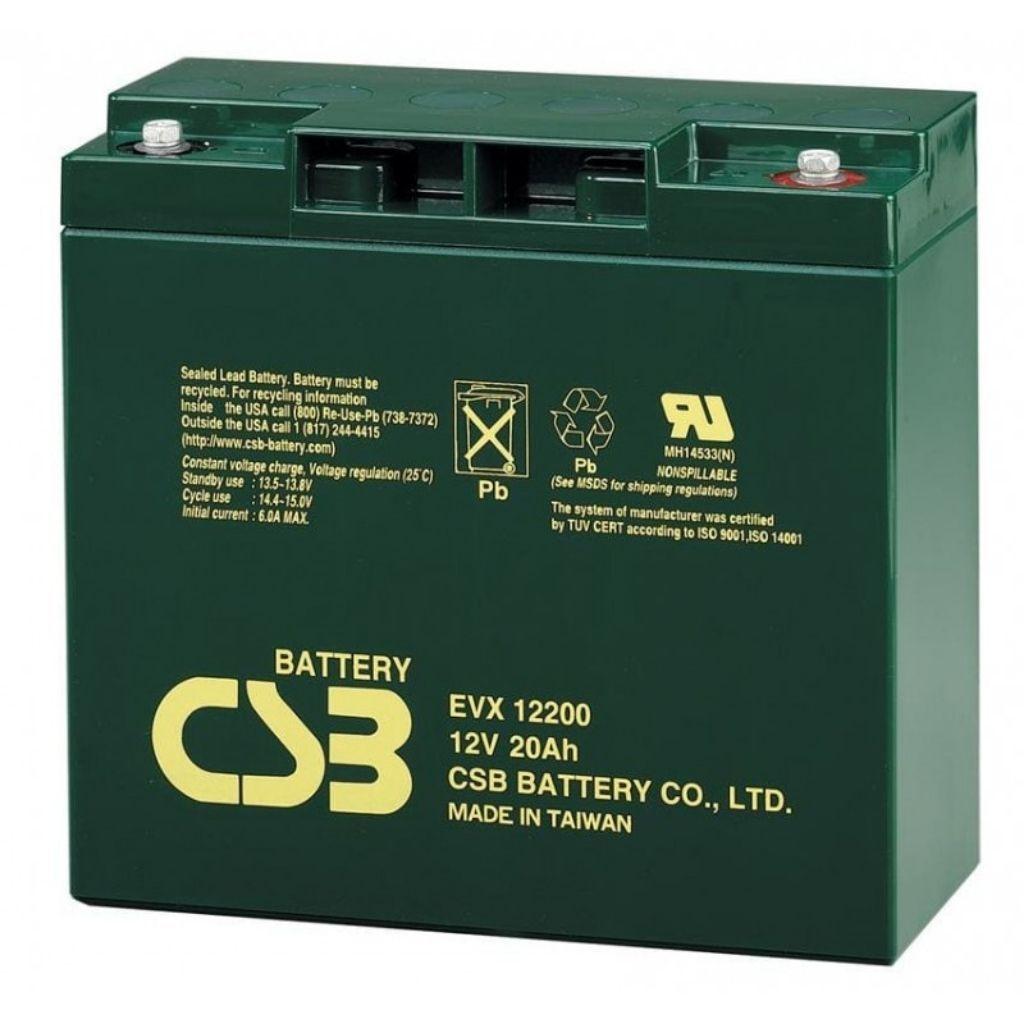 тягов цикличен акумулатор csb evx 20 ah