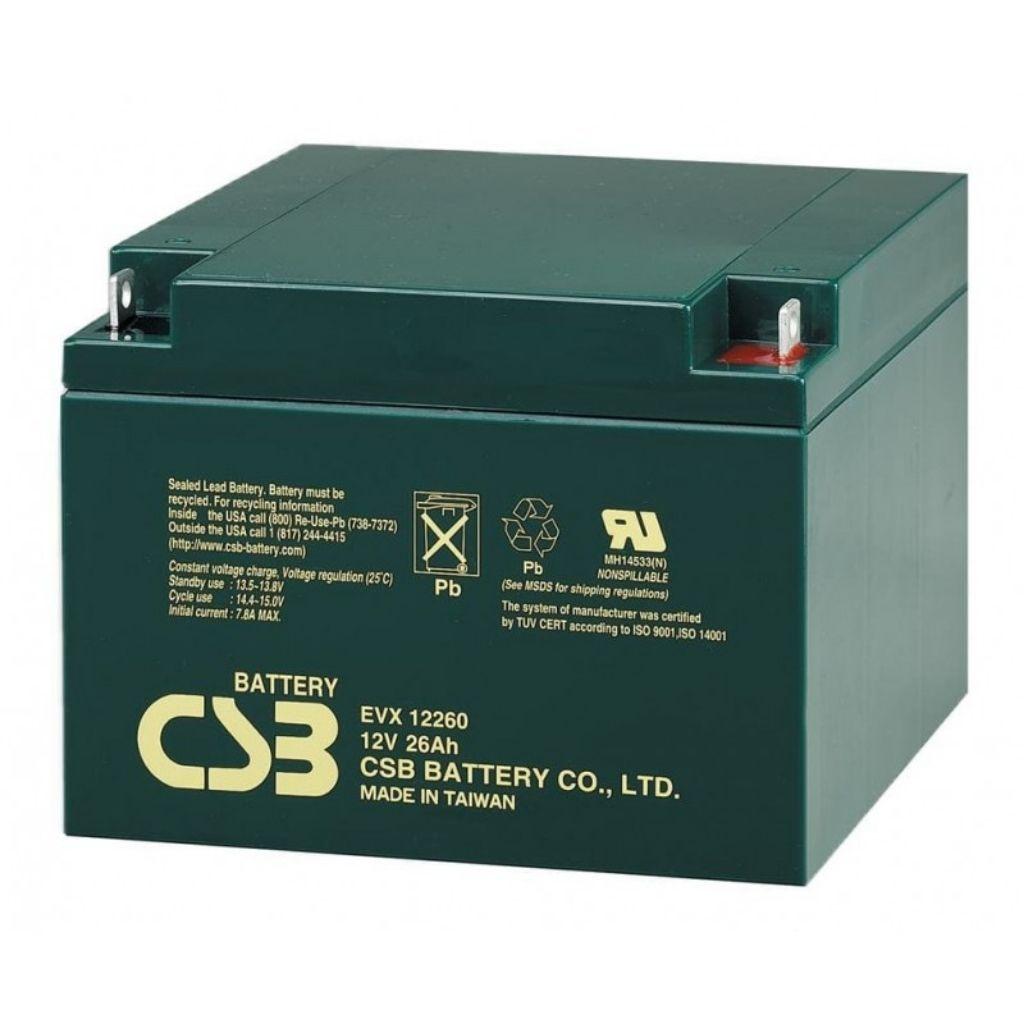 тягов цикличен акумулатор csb evx 26 ah
