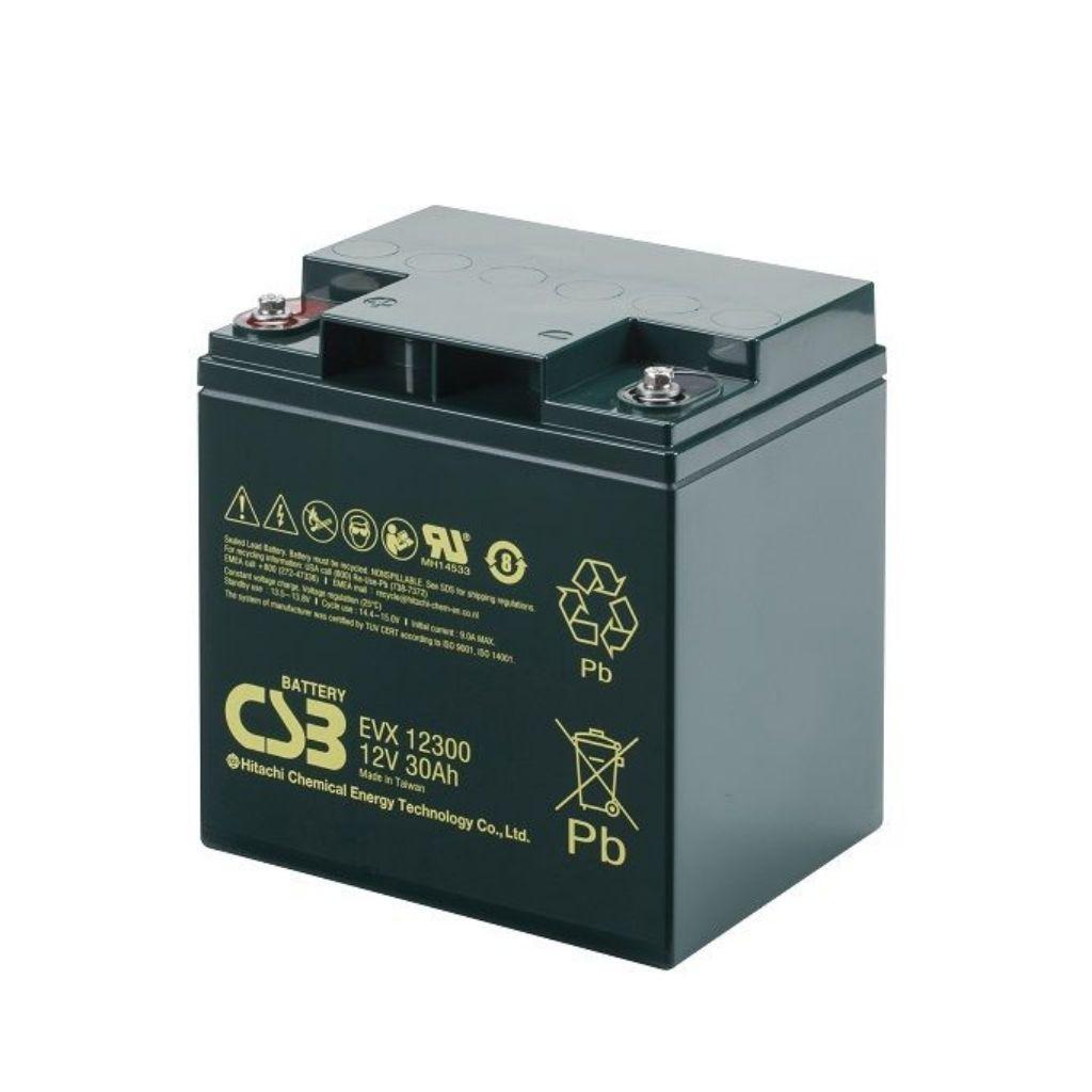 тягов цикличен agm акумулатор csb evx 30 ah