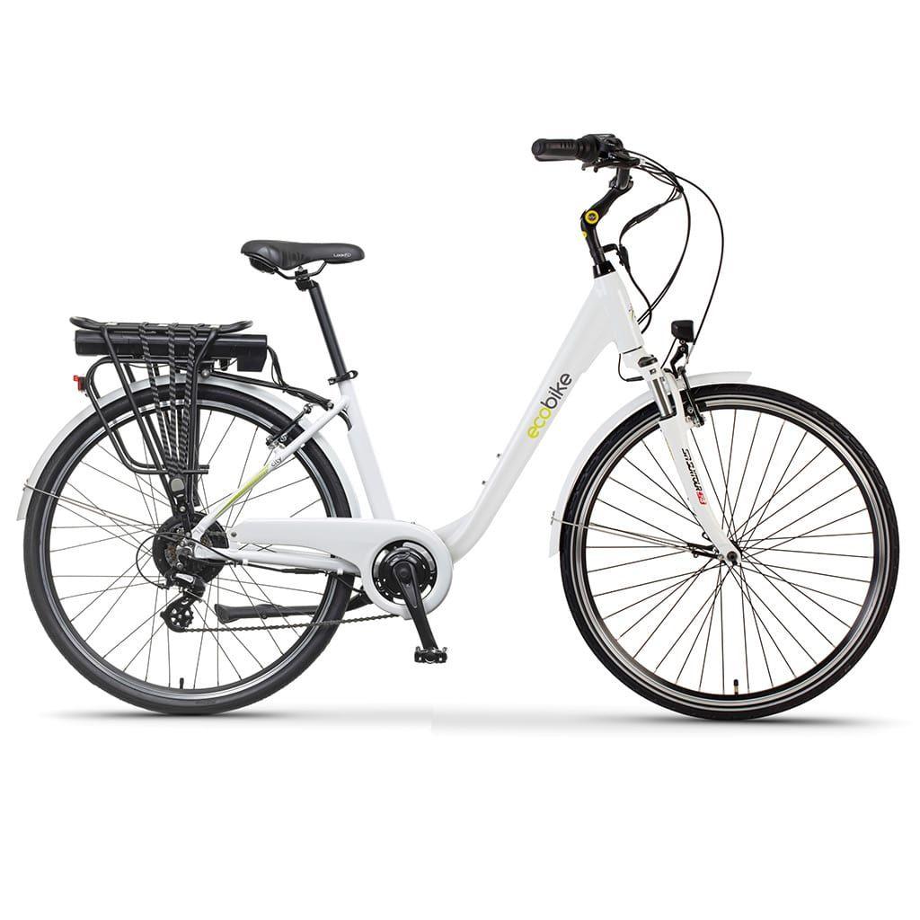 мощен градски електрически велосипед екобайк трафик про