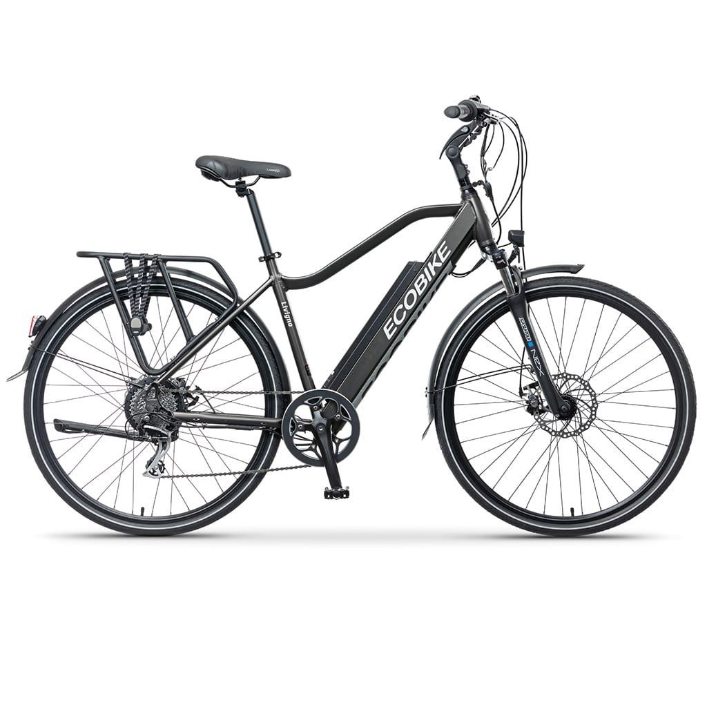 трекинг електро велосипед екобайк 19 инча