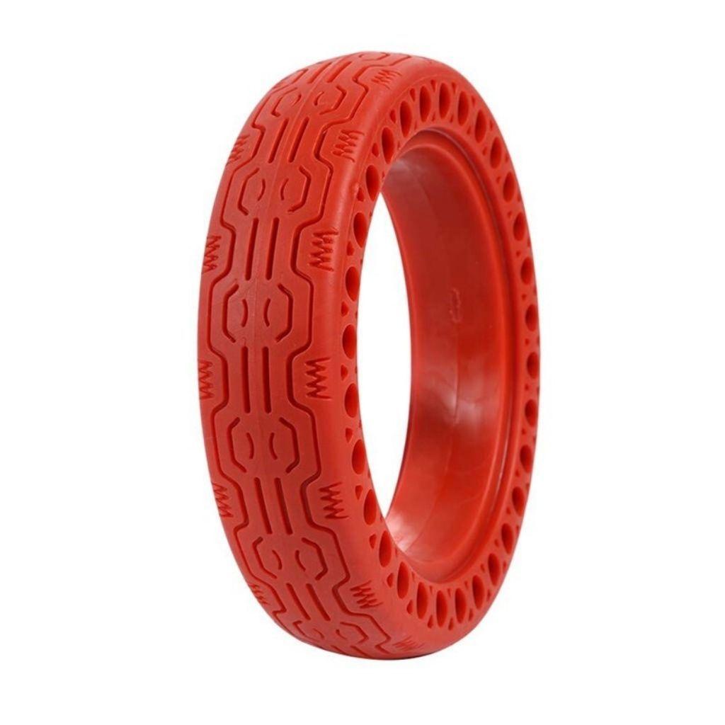 солидна червена гума за електрически скутер xiaomi m365