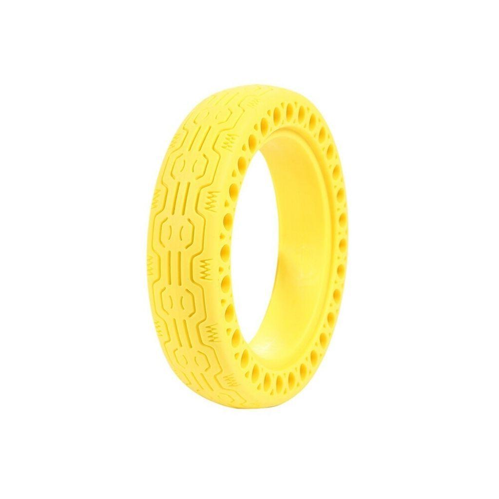солидна жълта гума за електрически скутер xiaomi m365