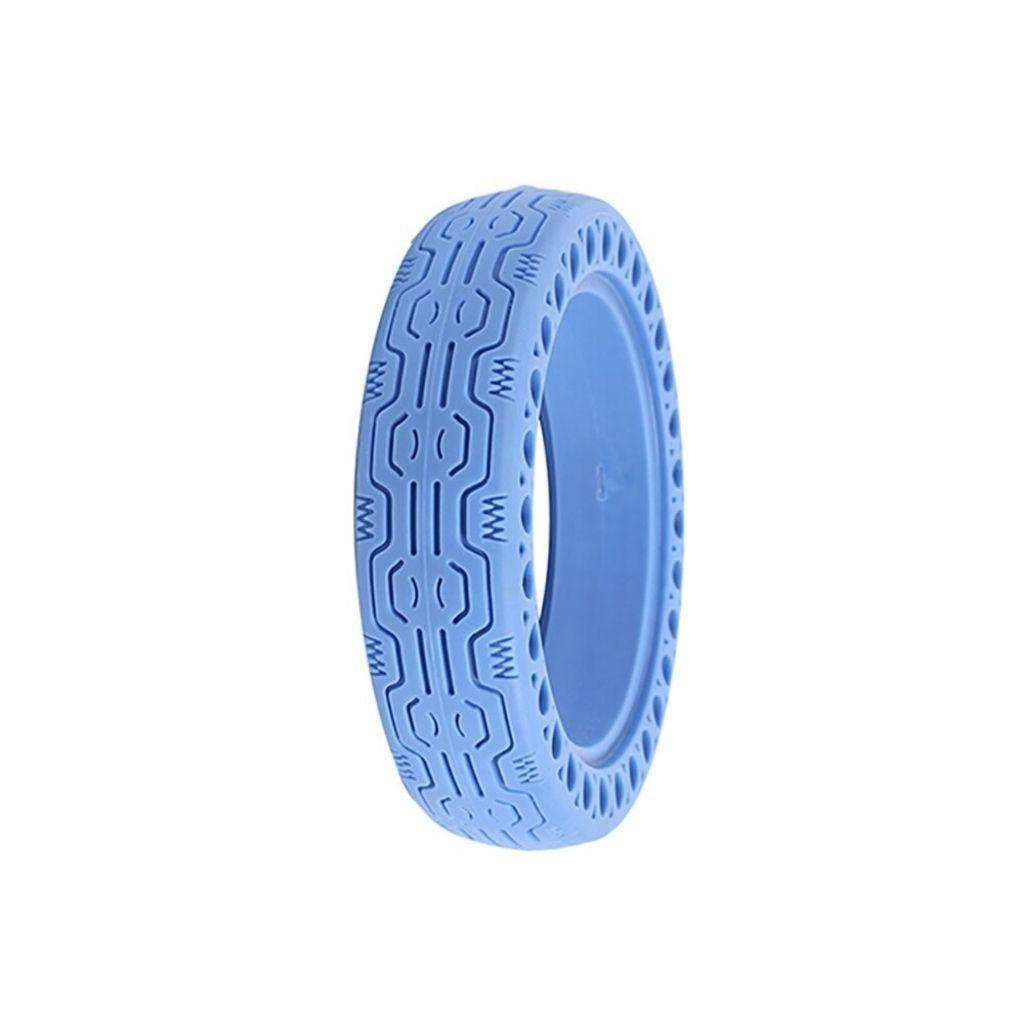 солидна синя гума за електрически скутер xiaomi m365