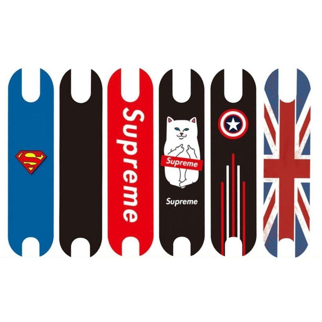 стикери със страхотен дизайн за борд на тротинетка xiaomi m365