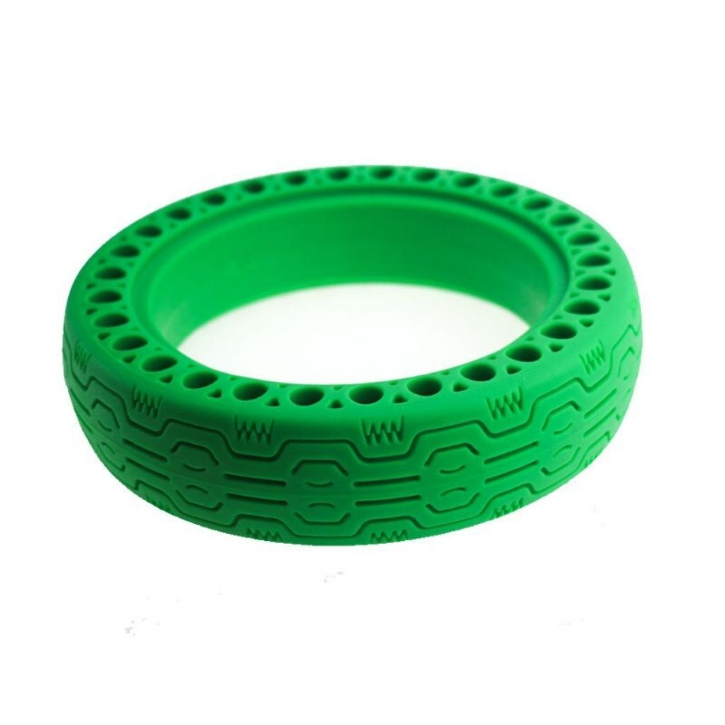 солидна зелена гума за ел скутер сяоми м365