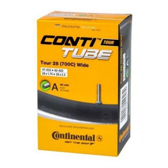Вътрешна гума Continental Tour Wide 28'' / 47-622 -> 62-622 AV - Авто вентил