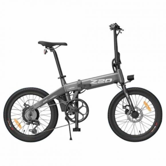 Сгъваемо електрическо колело HIMO Z20   сив