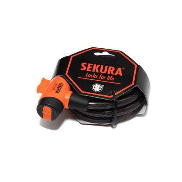 катинар за заключване на велосипед с ключ 185 сантиметра