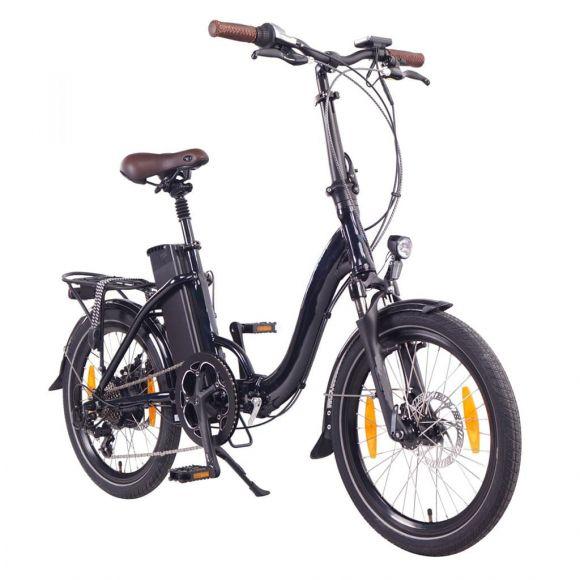 Сгъваемо електрическо колело Elmotive Basic 20 | черен