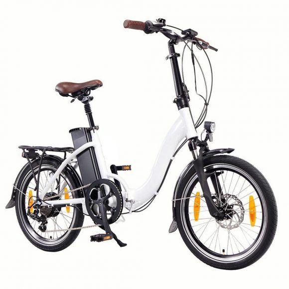 сгъваем електрически велосипед elmotive basic 250W