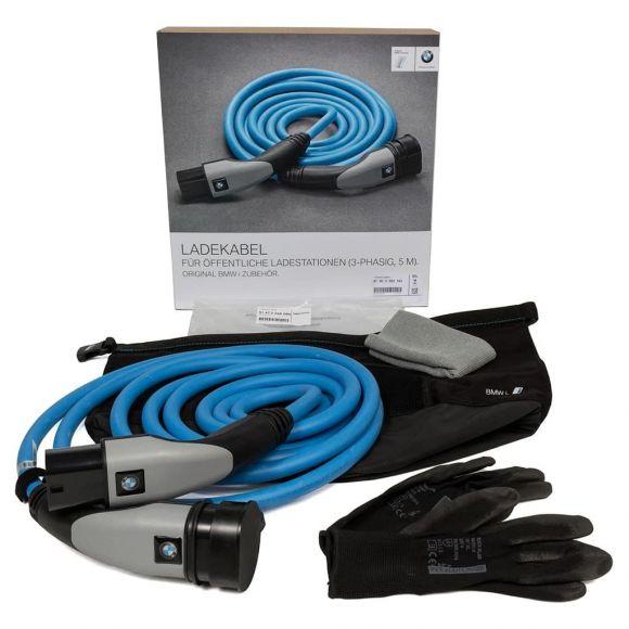 трифазен 22 kW кабел за зареждане на BMW
