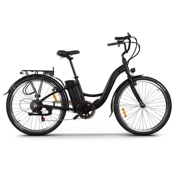 Градски електрически велосипед Elmotive CityBike 27,5 | черен