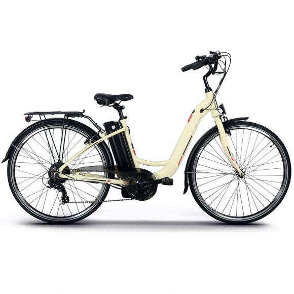 бюджетно електрическо колело Елмотив Сити Байк 28