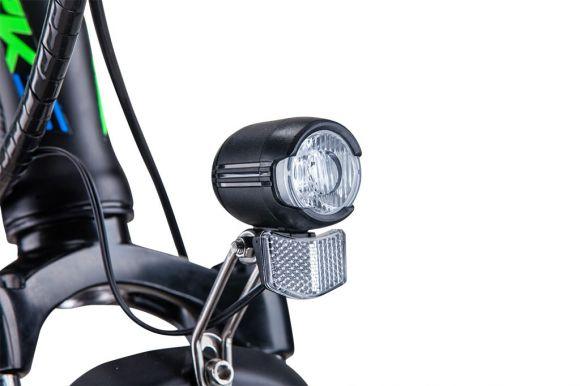 светодиоден фар за електрическо колело