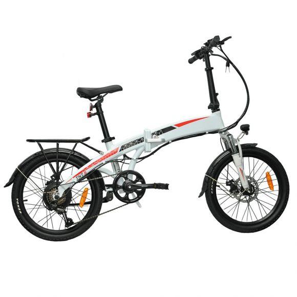 сгъваемо електрическо колело с вградена батерия