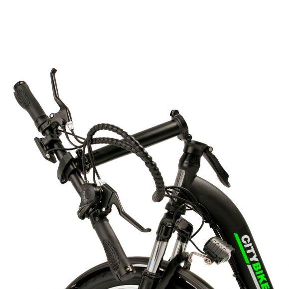 сгъваем градски велосипед elmotive citybike 20