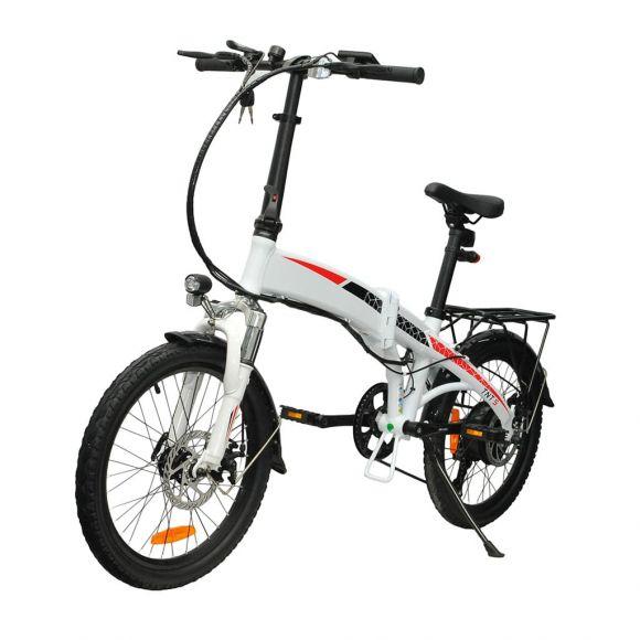 20 инчов сгъваем електрически велосипед Елмотив