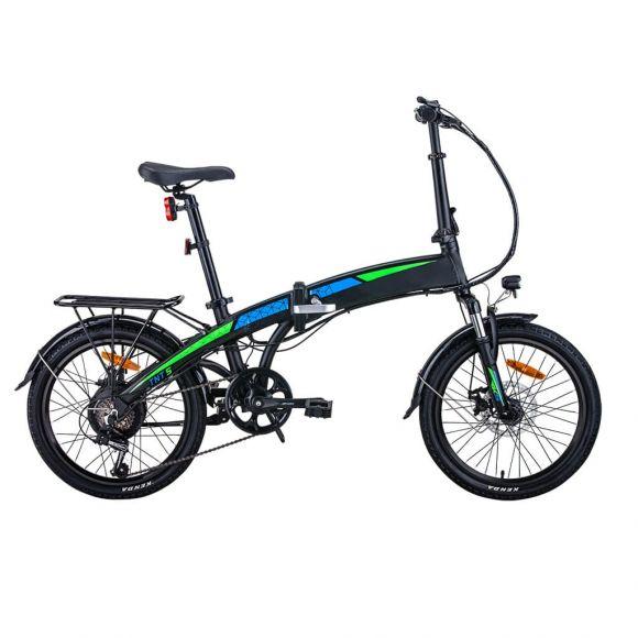 Сгъваемо електрическо колело Elmotive TNT 20 | черен