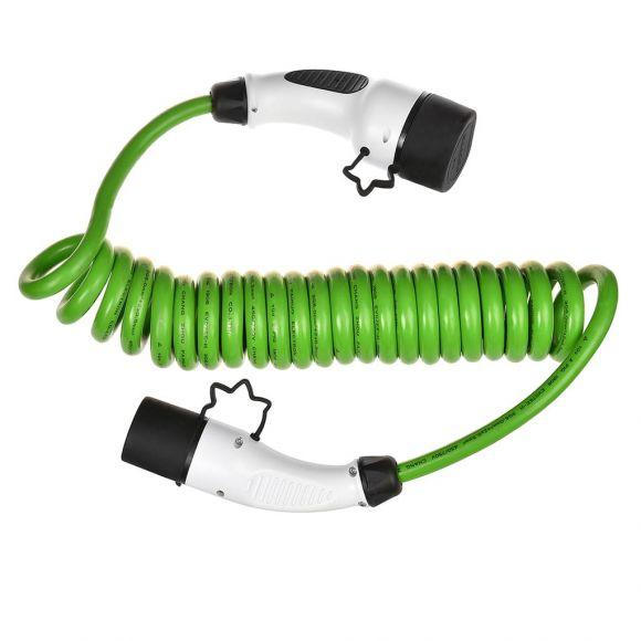 навит кабел за електрическа кола тип 2