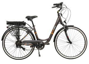 удобен велосипед за градско каране с асистенция