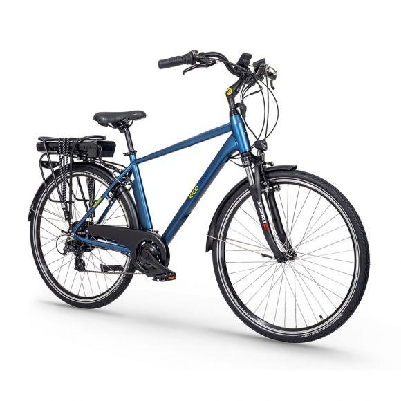 градски електрически велосипед с мъжка рамка