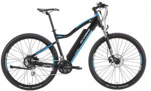 ел колело с вградена литиево-йонна батерия в рамката