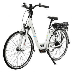 Градски електрически велосипед EcoBike CityL PRO 350W | бял